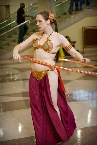 20 Awesomely Hot Slave Leia Costumes Slightly Nsfw