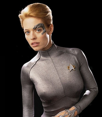 Jerri ryan fighting costume remarkable