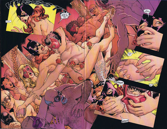 Marvel Comics Naked
