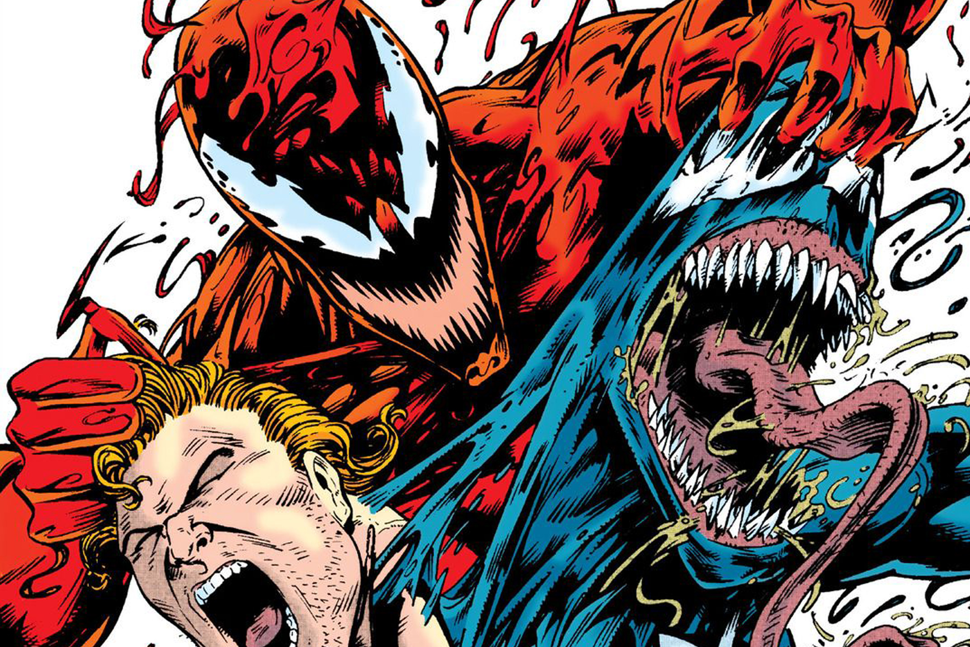 carnage will be the villain in tom hardy s venom movie syfy wire
