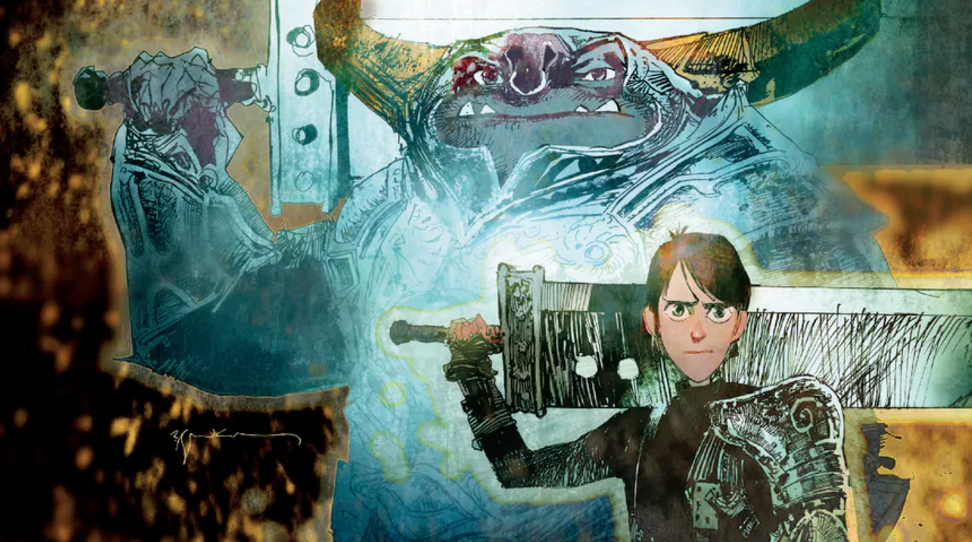 First look at guillermo del toros trollhunters graphic novel from first look at guillermo del toros trollhunters graphic novel from dark horse syfy wire ccuart Image collections