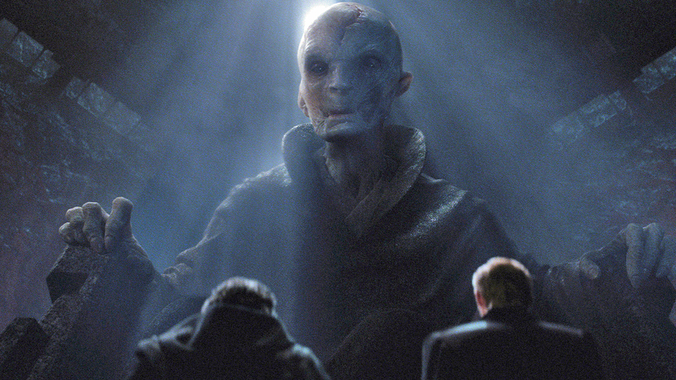 SYFY - A Force Friday II toy just revealed Snoke's massive new starship