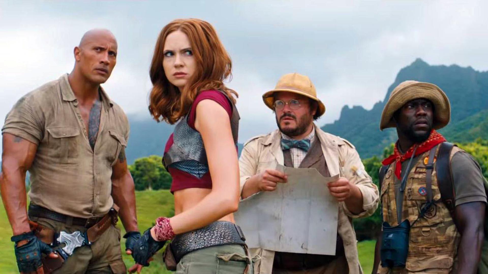Jumanji : Welcome To The Jungle Akan Menjadi Film 'Action