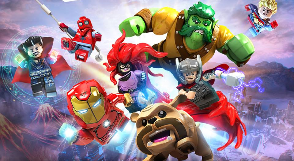 Syfy - Travel through space and time with LEGO Marvel Superheroes 2 ...
