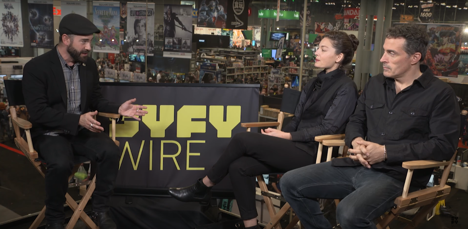Syfy - NYCC: The Man in the High Castle cast on the show\'s relevancy ...