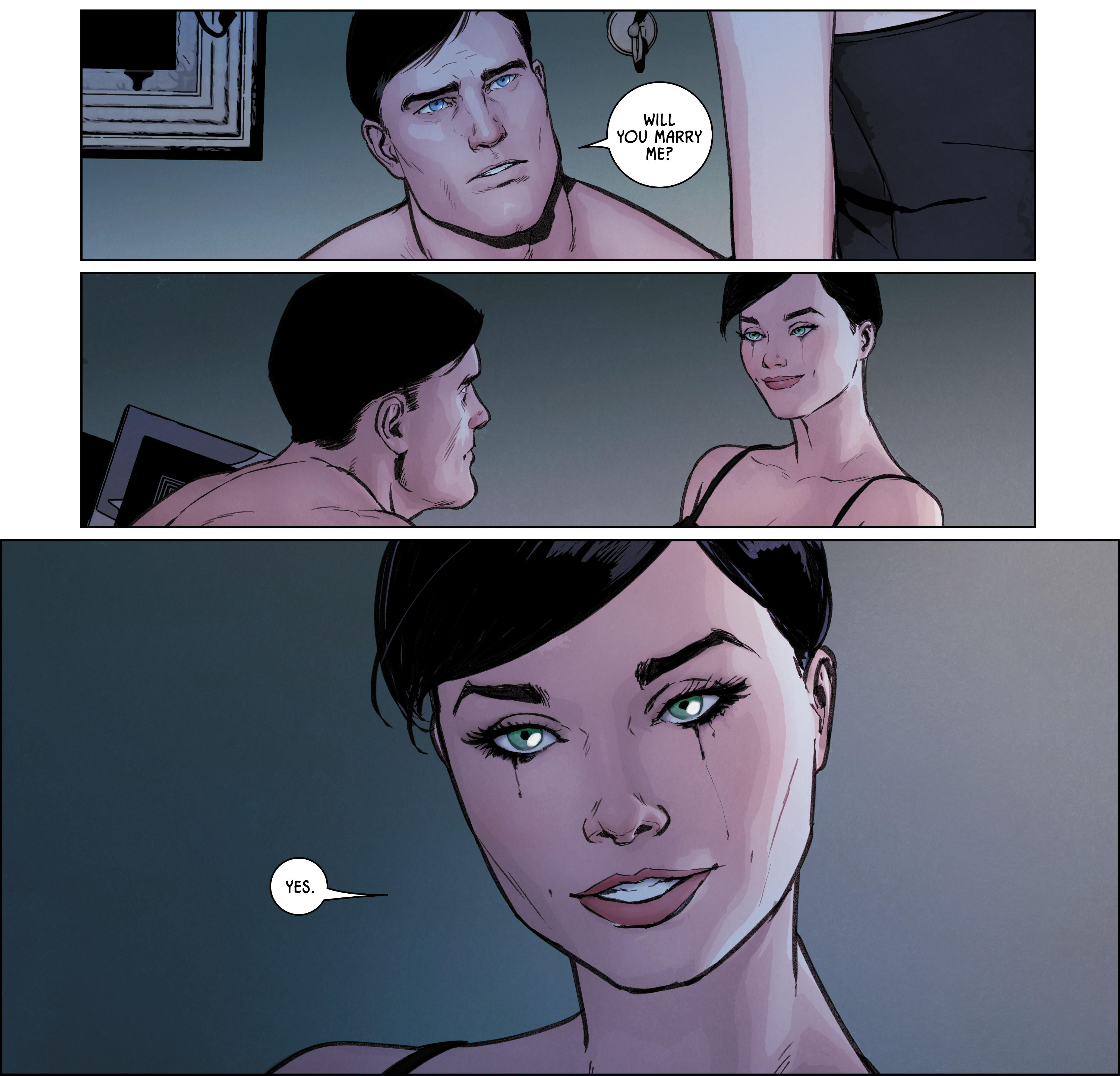 Batman #32 DC Comics Catwoman Marriage Proposal Answer revealed!