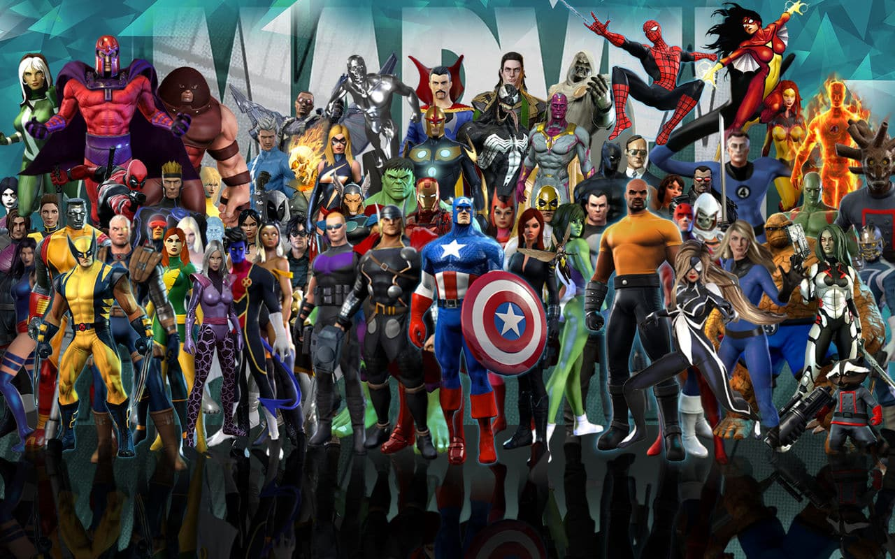 Image result for marvel heroes