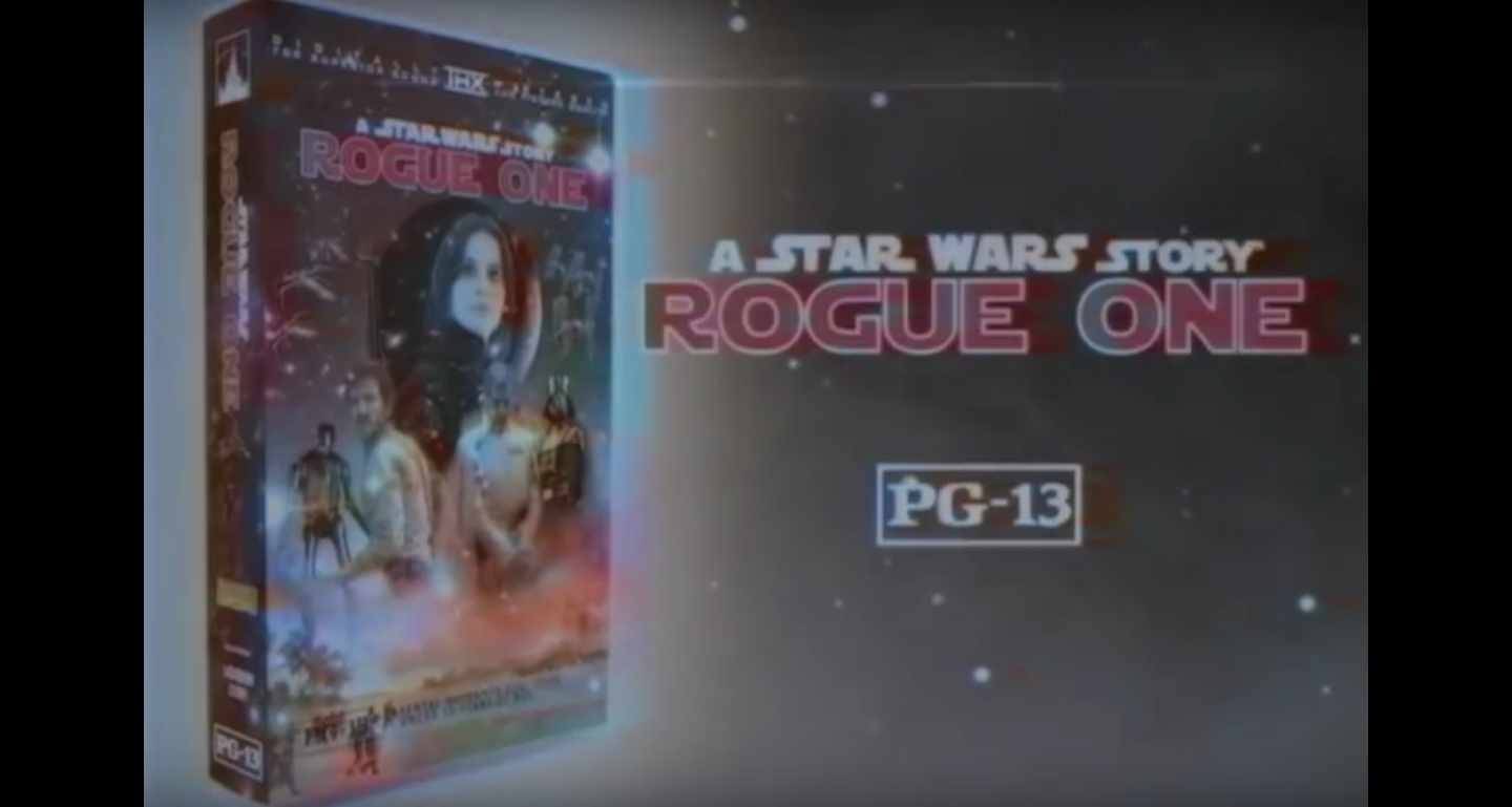 This Fan Made Vhs Trailer For Rogue One Is Galactically Good Nostalgia