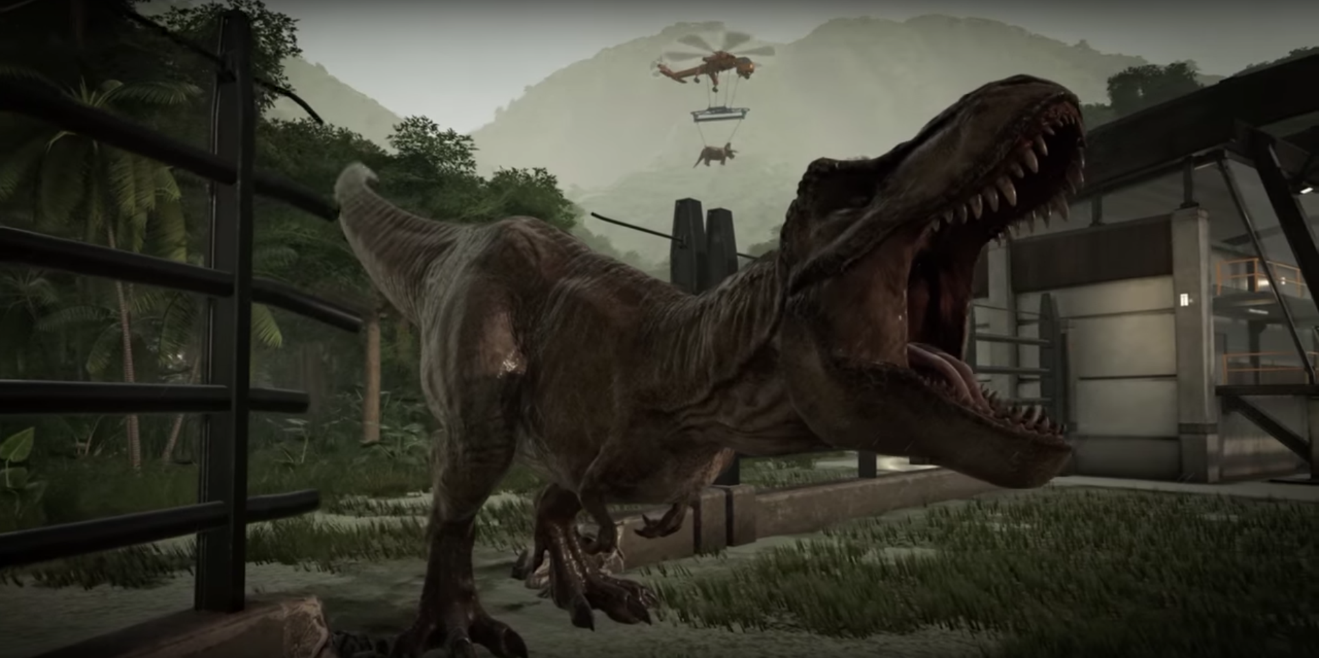 Jurassic World Evolution game: Zoo Tycoon meets prehistory
