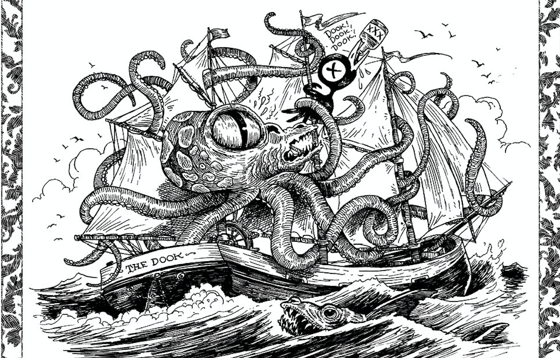 Wrap yourself around Boom!\'s new Tony Millionaire Sea Monsters ...