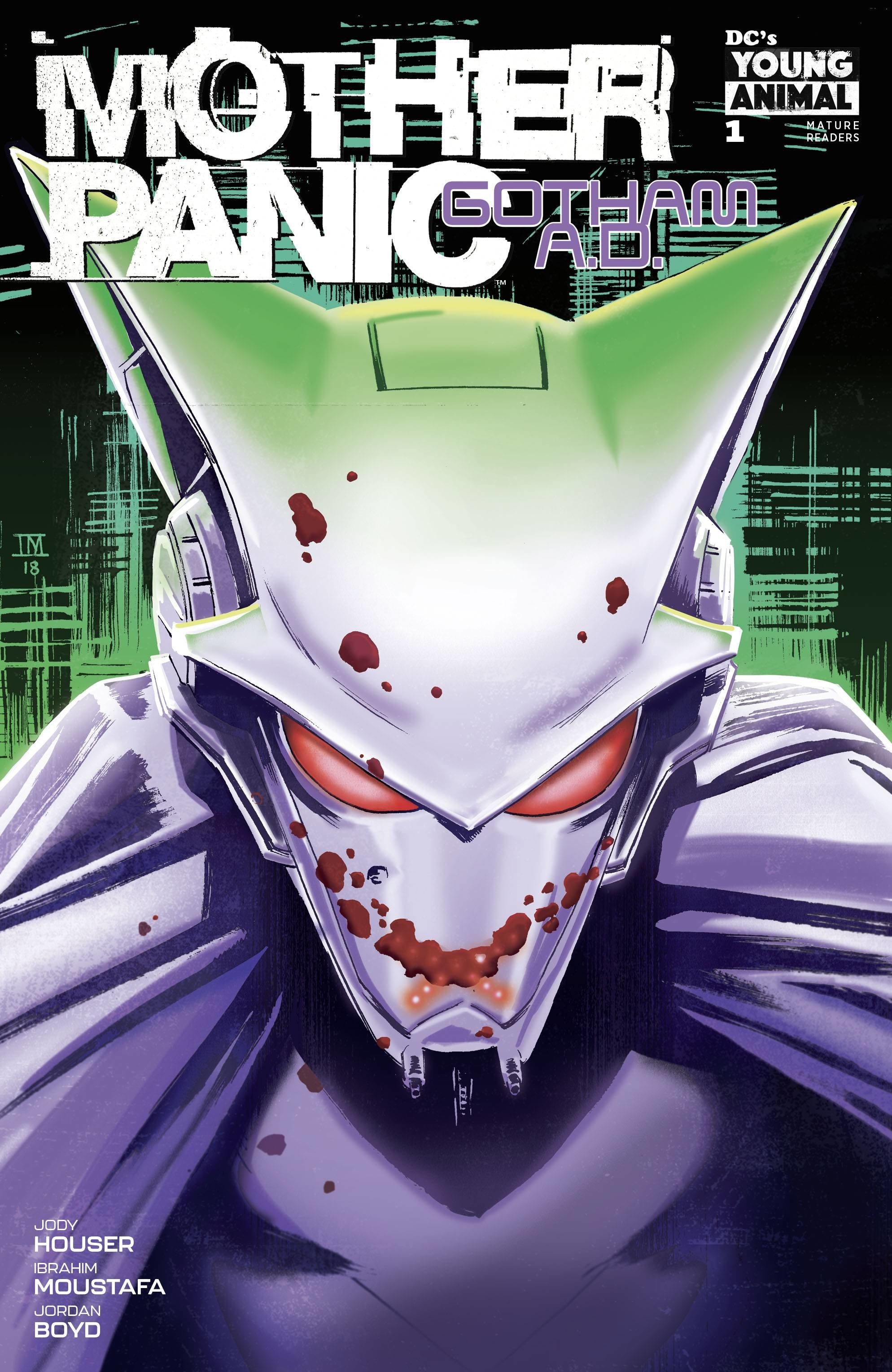 Jody Houser makes Mother Panic: Gotham A D  a must-read with