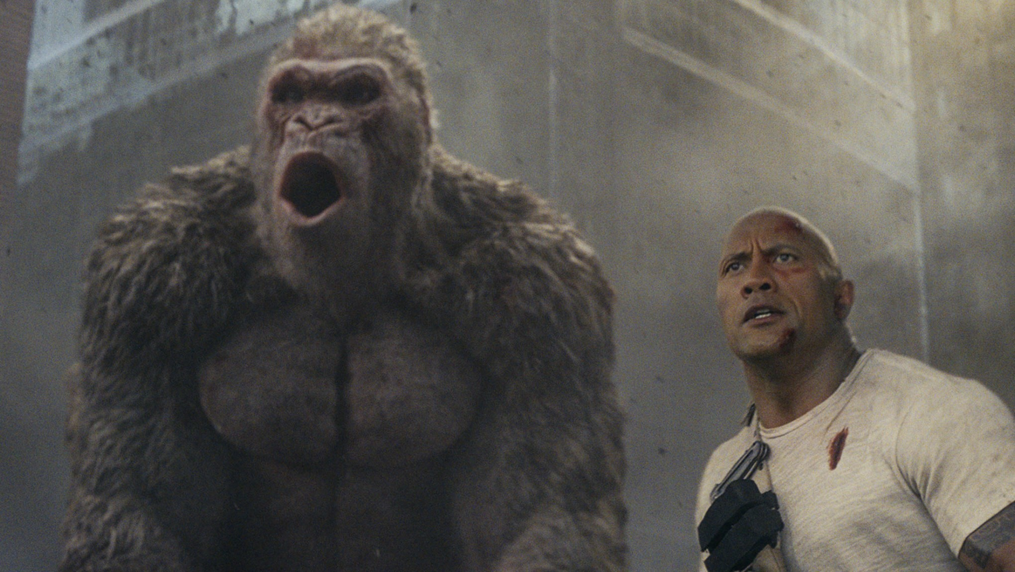 Why Dwayne Johnson Almost Quit Rampage Over Its Ending