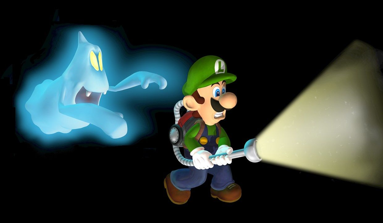 Nintendo Labo Ghost Hunting Game Makes Your Home Luigi S