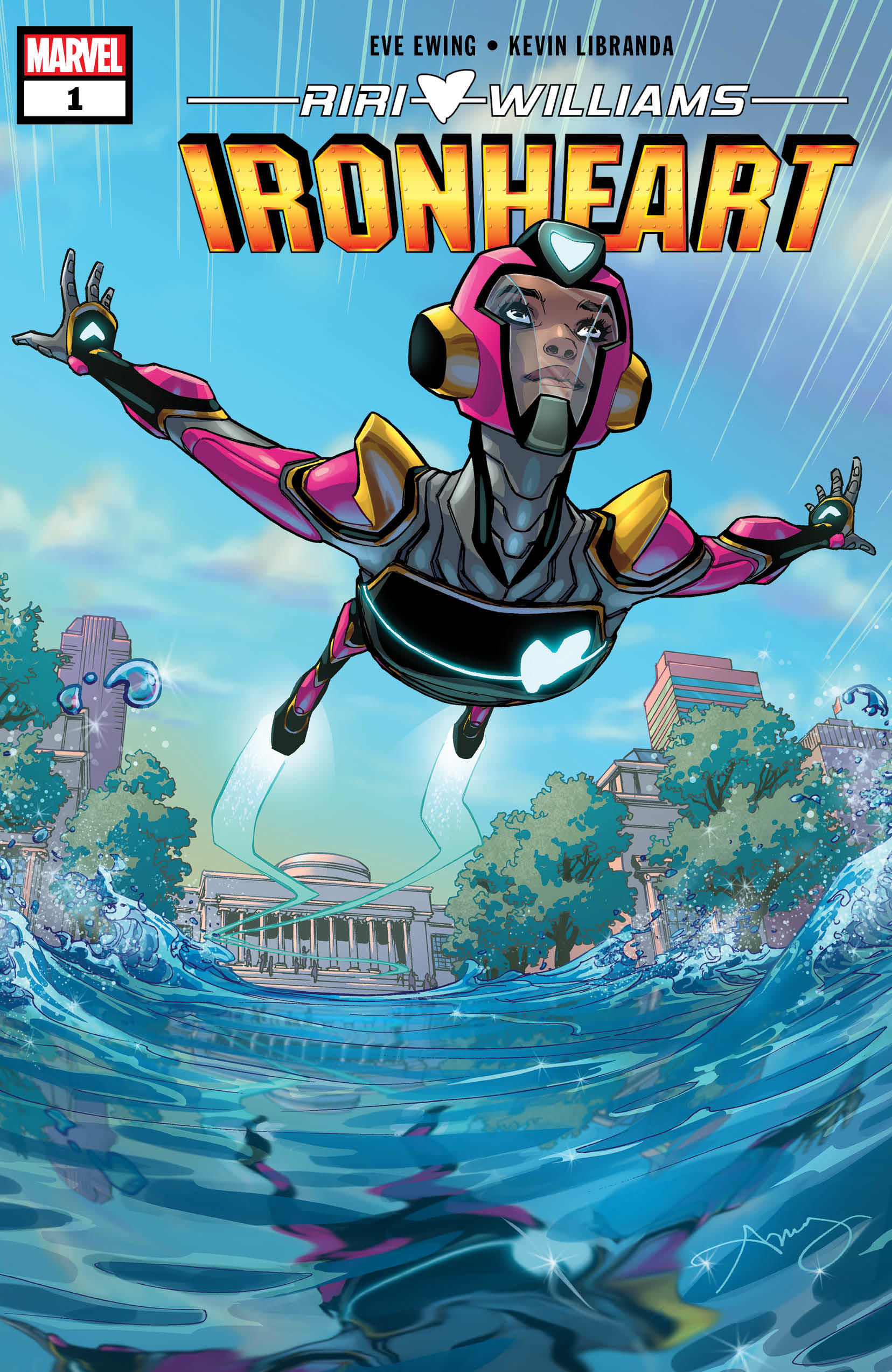 Image result for ironheart #1