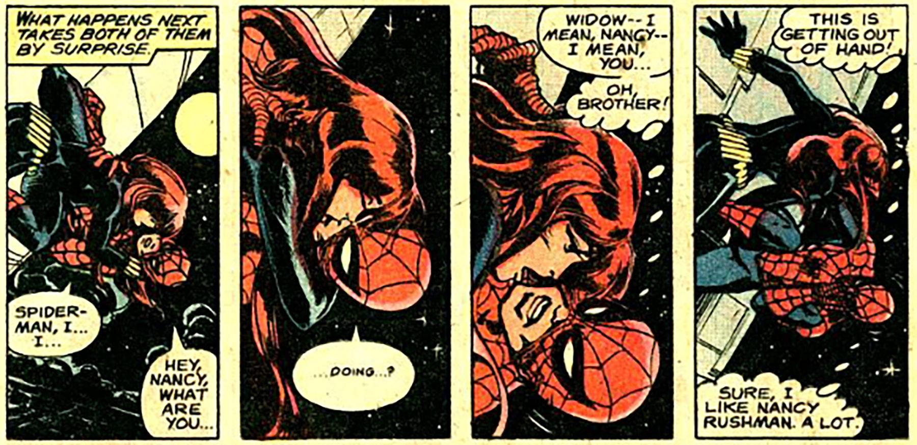 The strange loves of Spider-Man