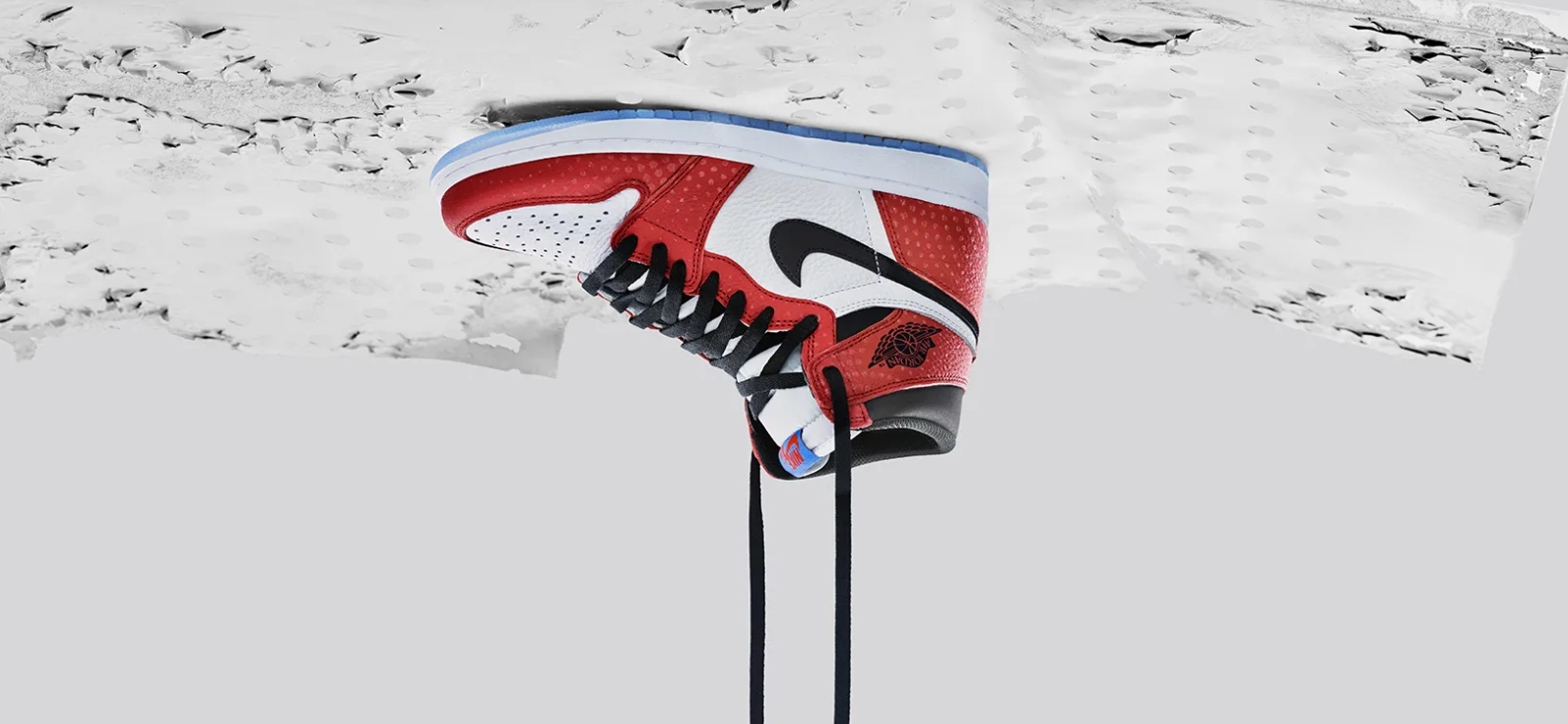 newest 09778 83dbe nike air jordan 1 retro low og weiß uni rot weiß  nikes into the spider  verse air jordans will have you feeling like miles morales (powers