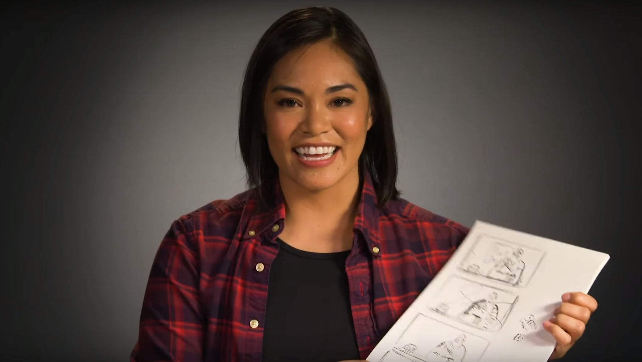 Artists Alley: Disney Head of Story Josie Trinidad sketches Ralph Breaks the Internet storyboards