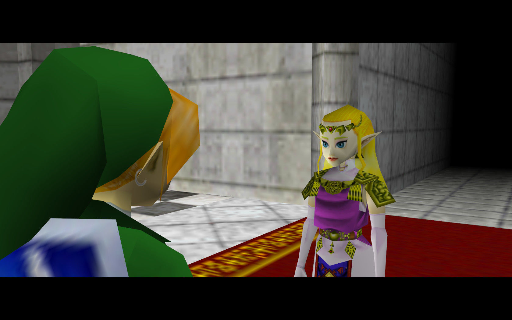 The Legend Of Zelda Ocarina Of Time Is About Zelda Becoming