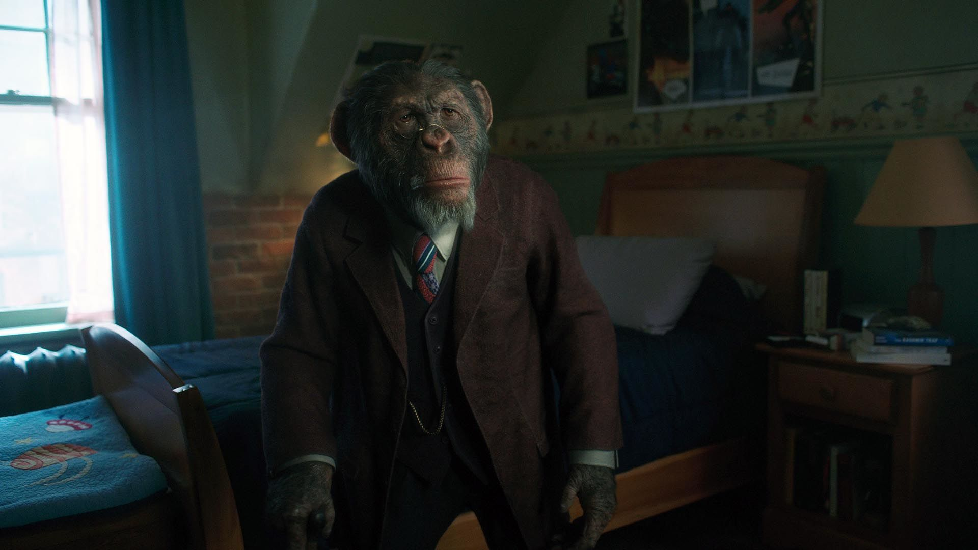 How The Umbrella Academy brought Pogo the monkey butler to life