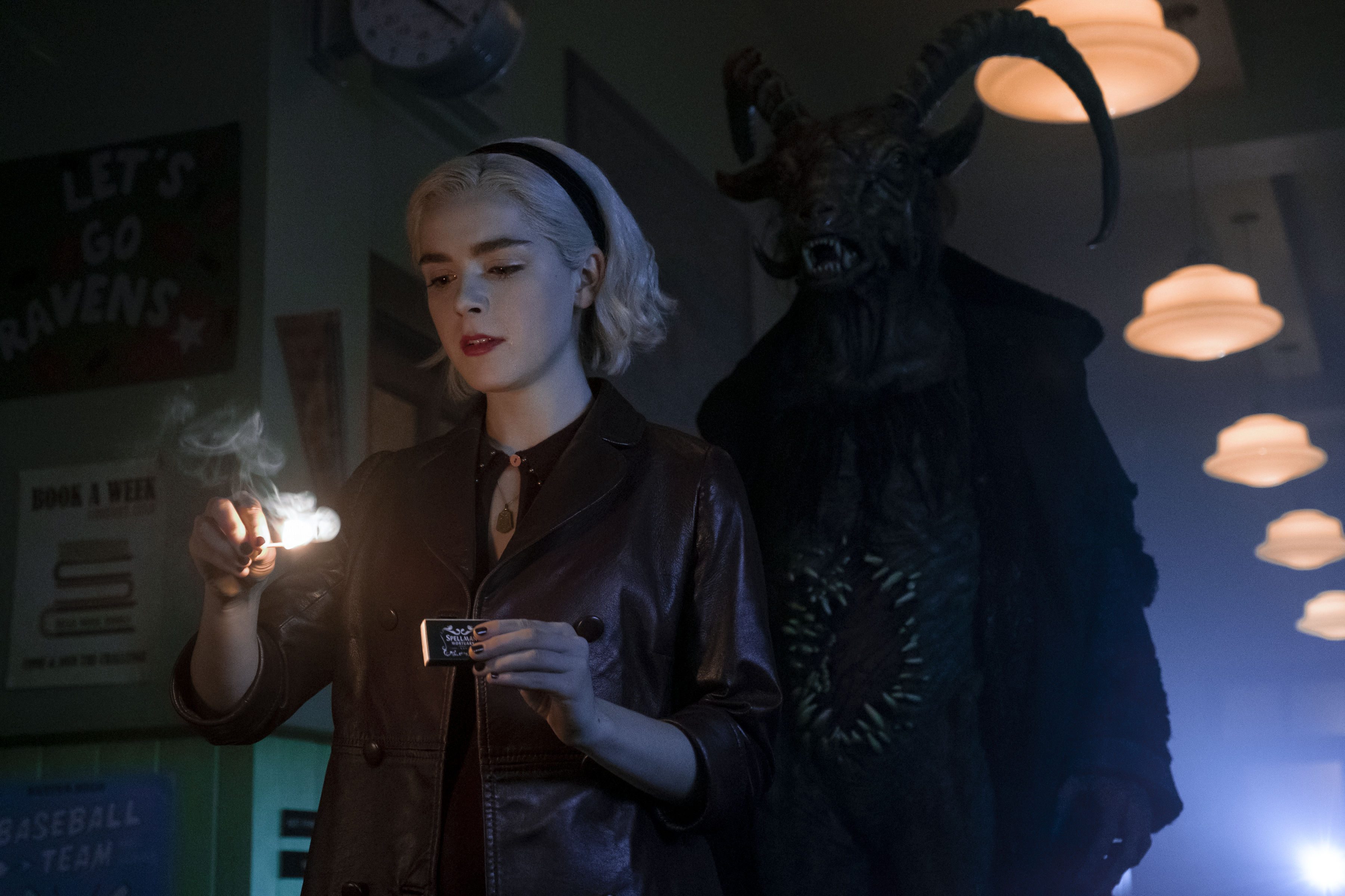 Sabrina heads down a dark path in new trailer for Chilling Adventures Part 2