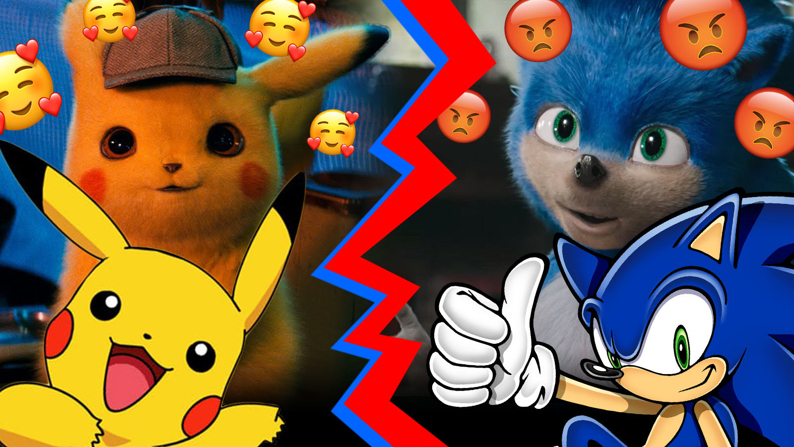 Why Detective Pikachu S Cgi Pokemon Look Real And Sonic The Hedgehog Doesn T