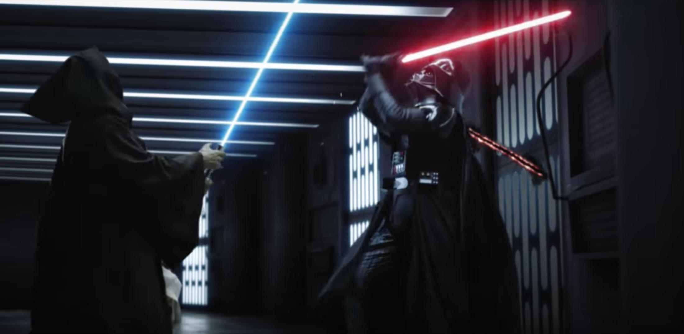 Kenobi Vs Vader Epic Lightsaber Duel Remake Is Amazing