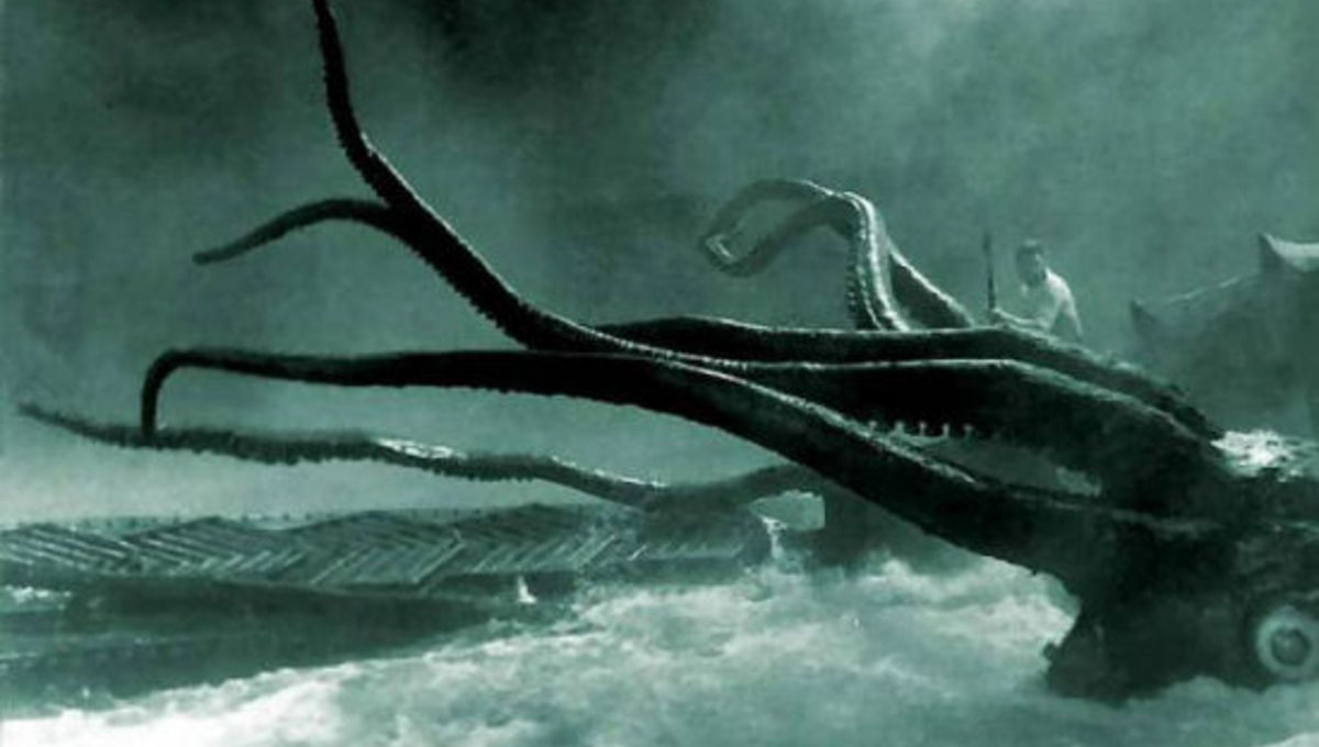 Captain Nemo would be proud! Mysterious giant squid filmed in U.S. waters for first time