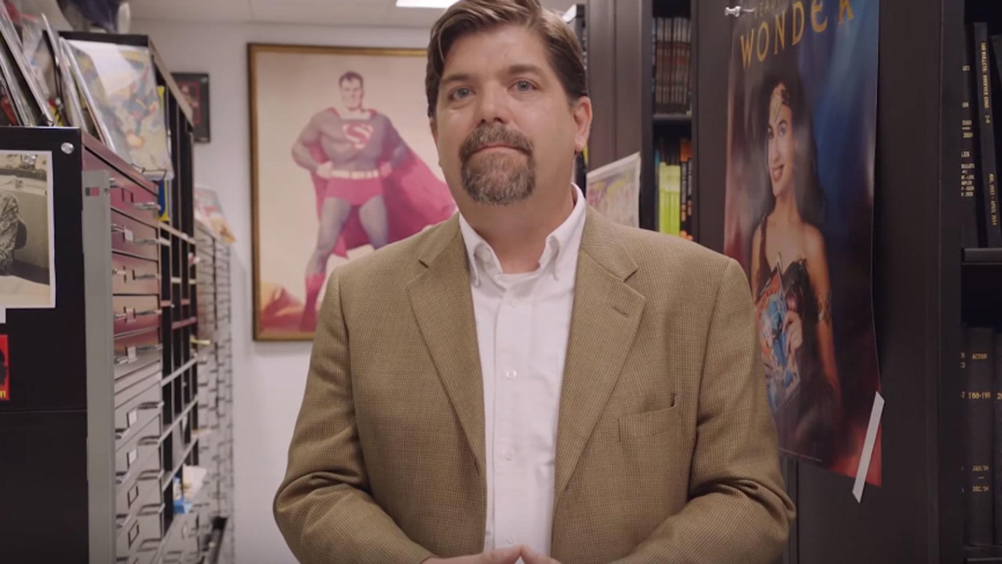 Nerdy Jobs: DC Comics Archivist Benjamin LeClear