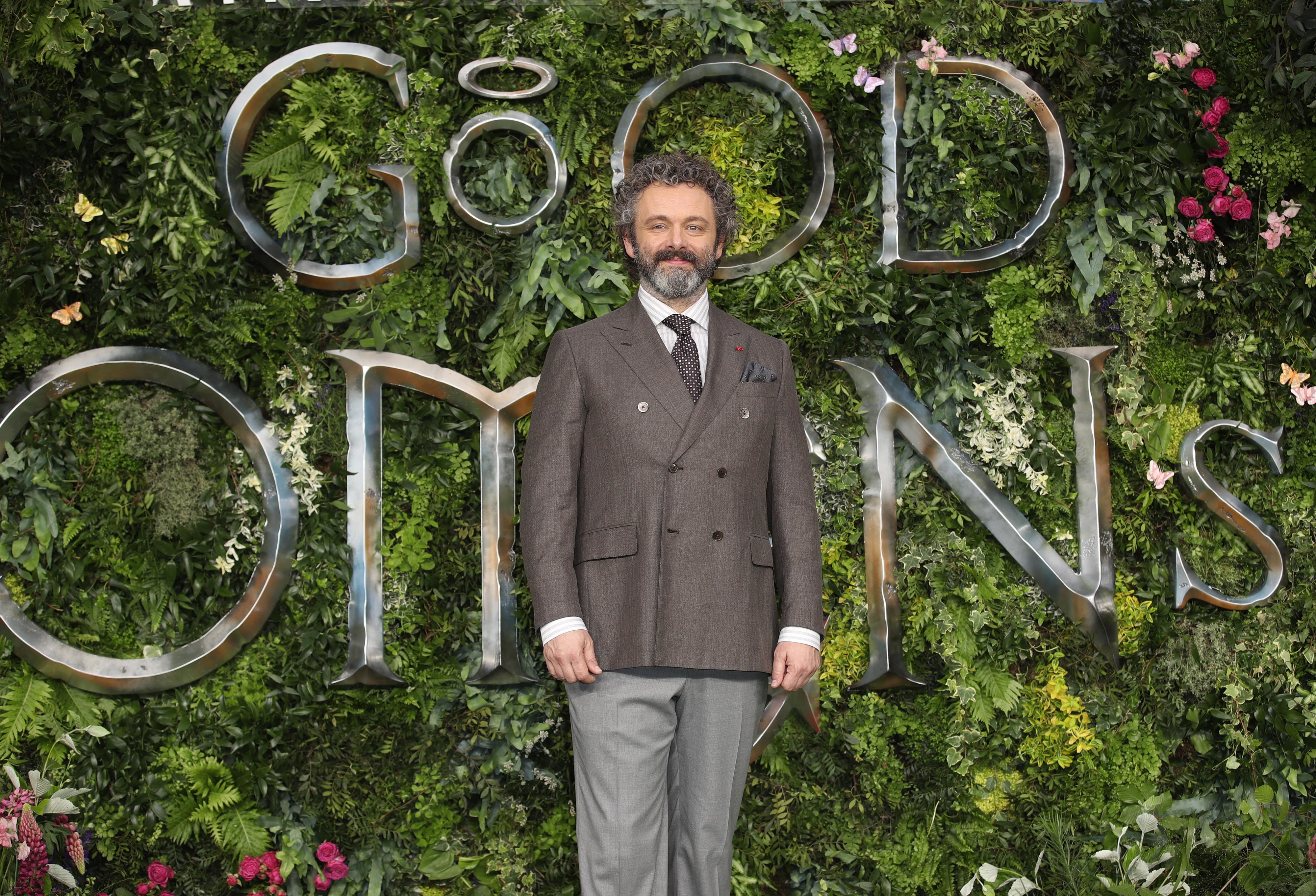 Thank God for Michael Sheen, the angel of Good Omens and fan
