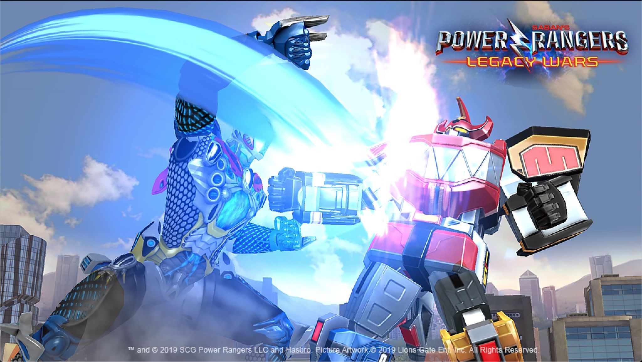 The Power Rangers Mobile Game Update Adds The 2017 Movie S Megazord