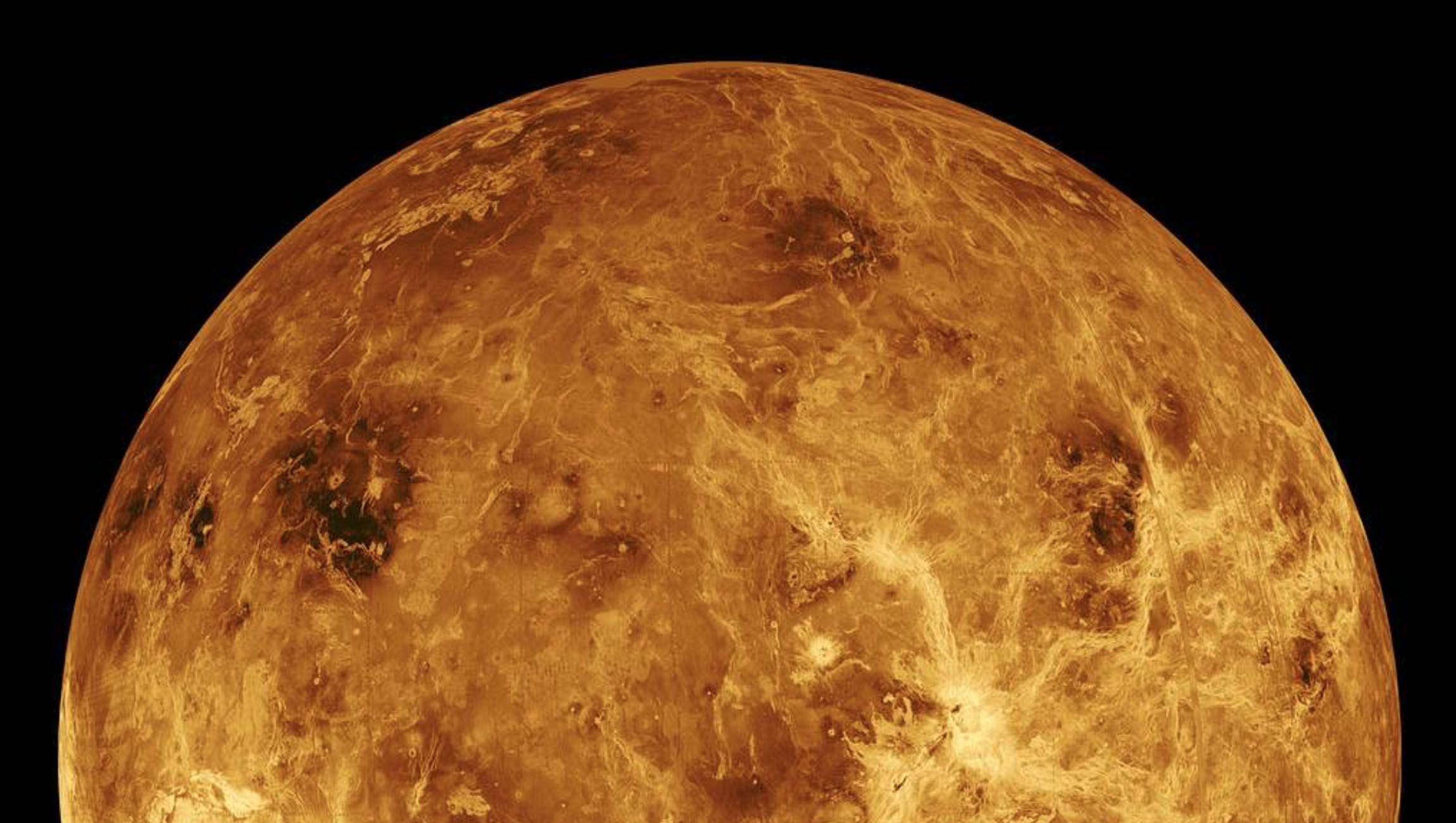 Venus was once a raging fireball of lava and chaos