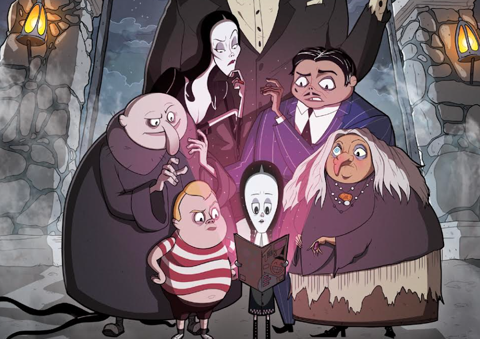 Wednesday unlocks arcane powers in IDW's The Addams Family: The Bodies Issue