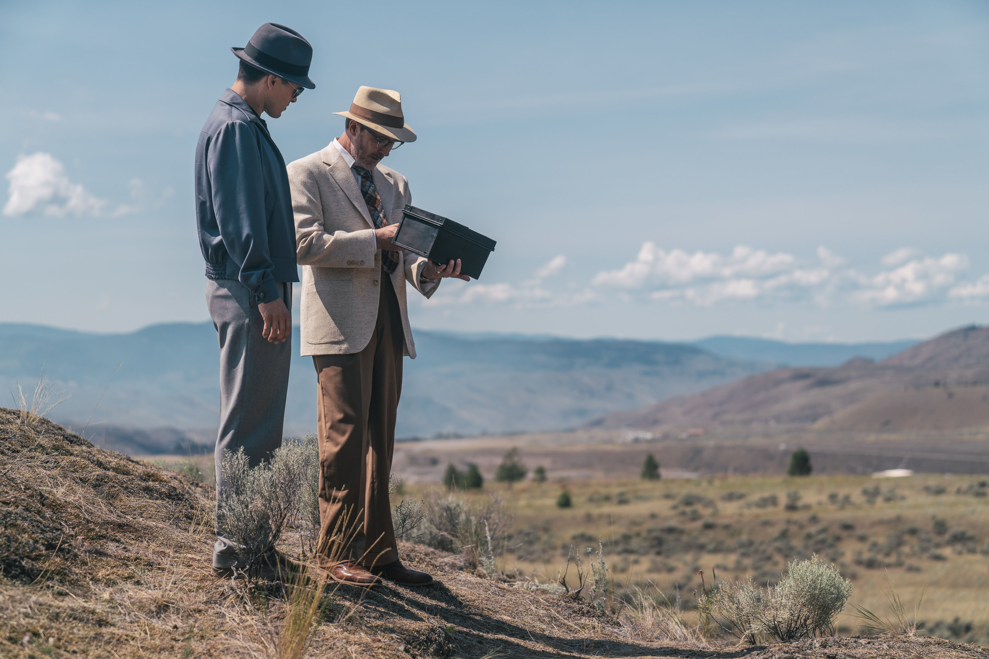 Project Blue Book podcast 2.1: Aidan Gillen and Michael Malarkey give intel on 'The Roswell Incident - Part I'
