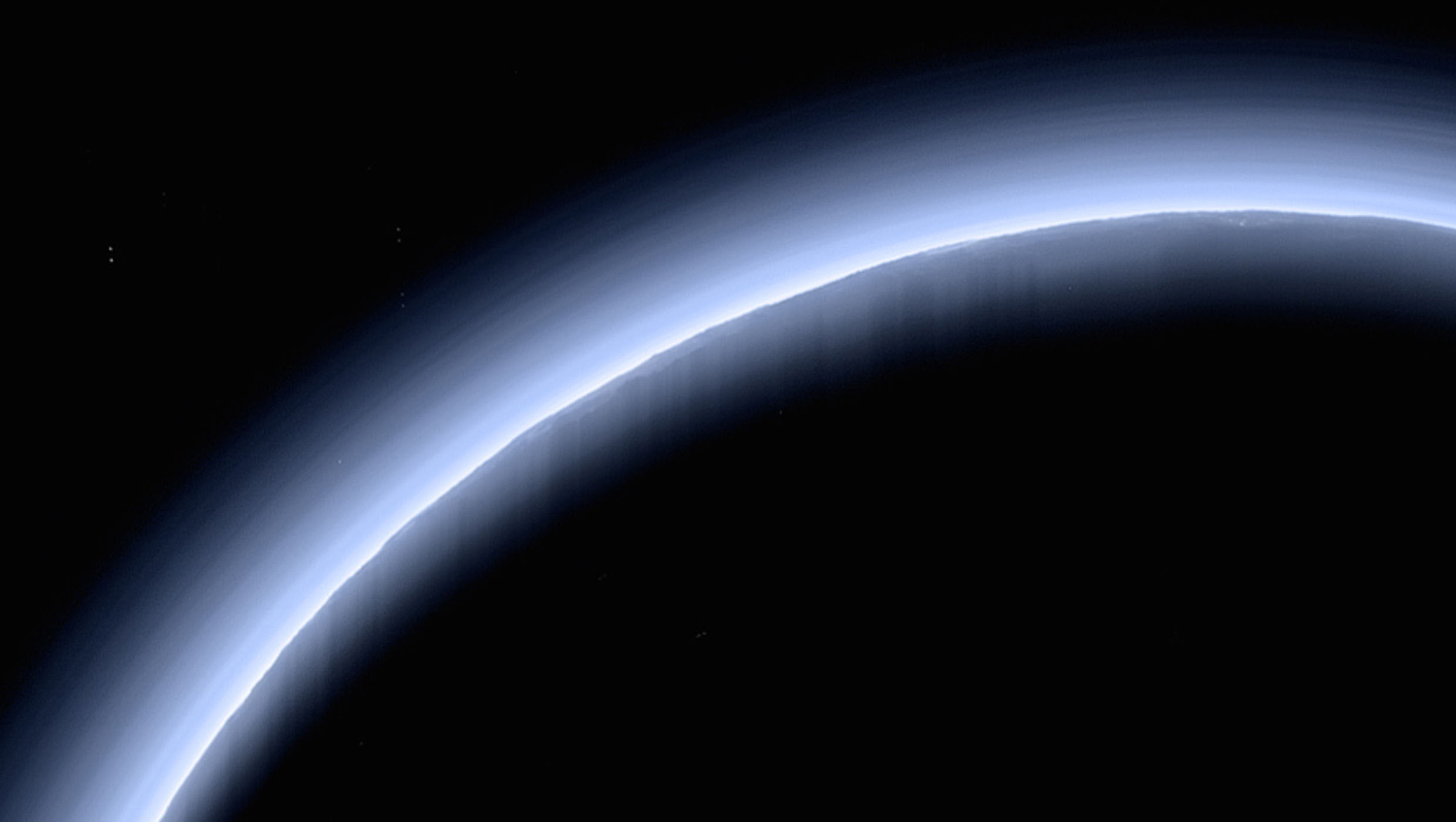 What's that trippy haze on Pluto?