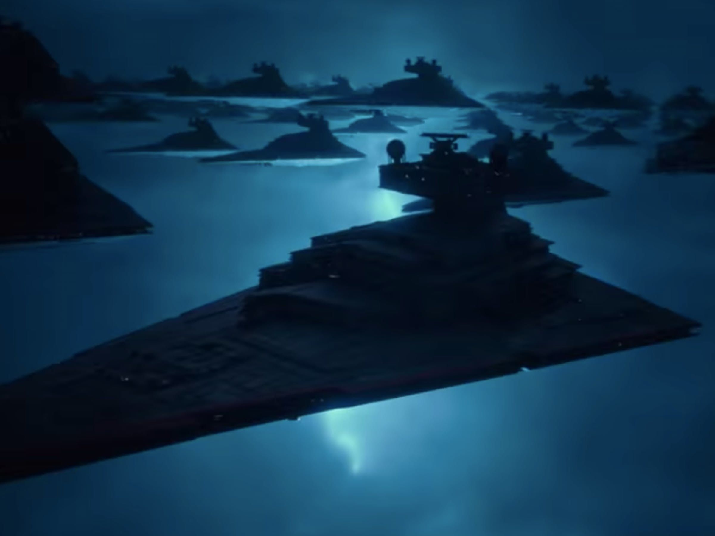 The Rise Of Skywalker How Palpatine Got That Fleet