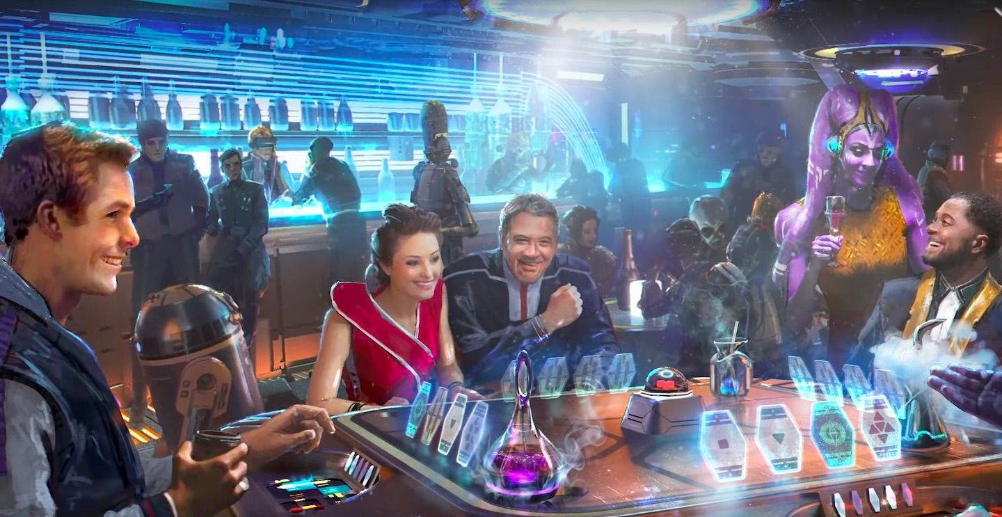 WIRE Buzz: Disney's Star Wars hotel gets a galactic teaser; Ant-Man director honors Kirk Douglas