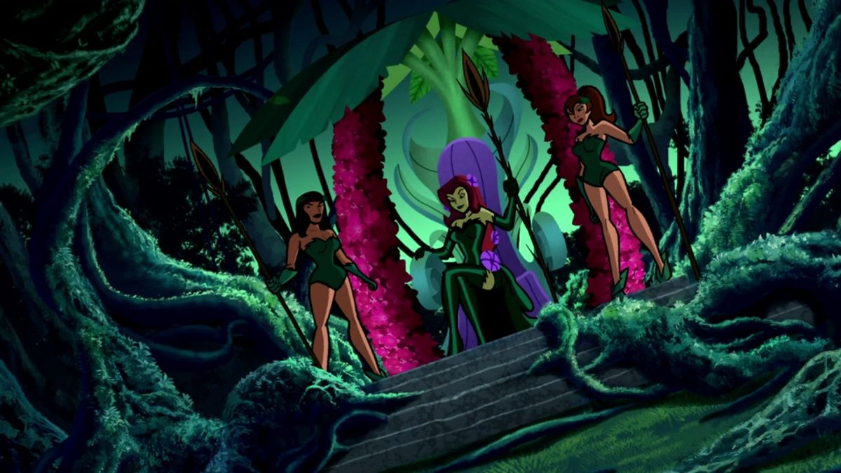 A binge guide for the animated appearances of Poison Ivy