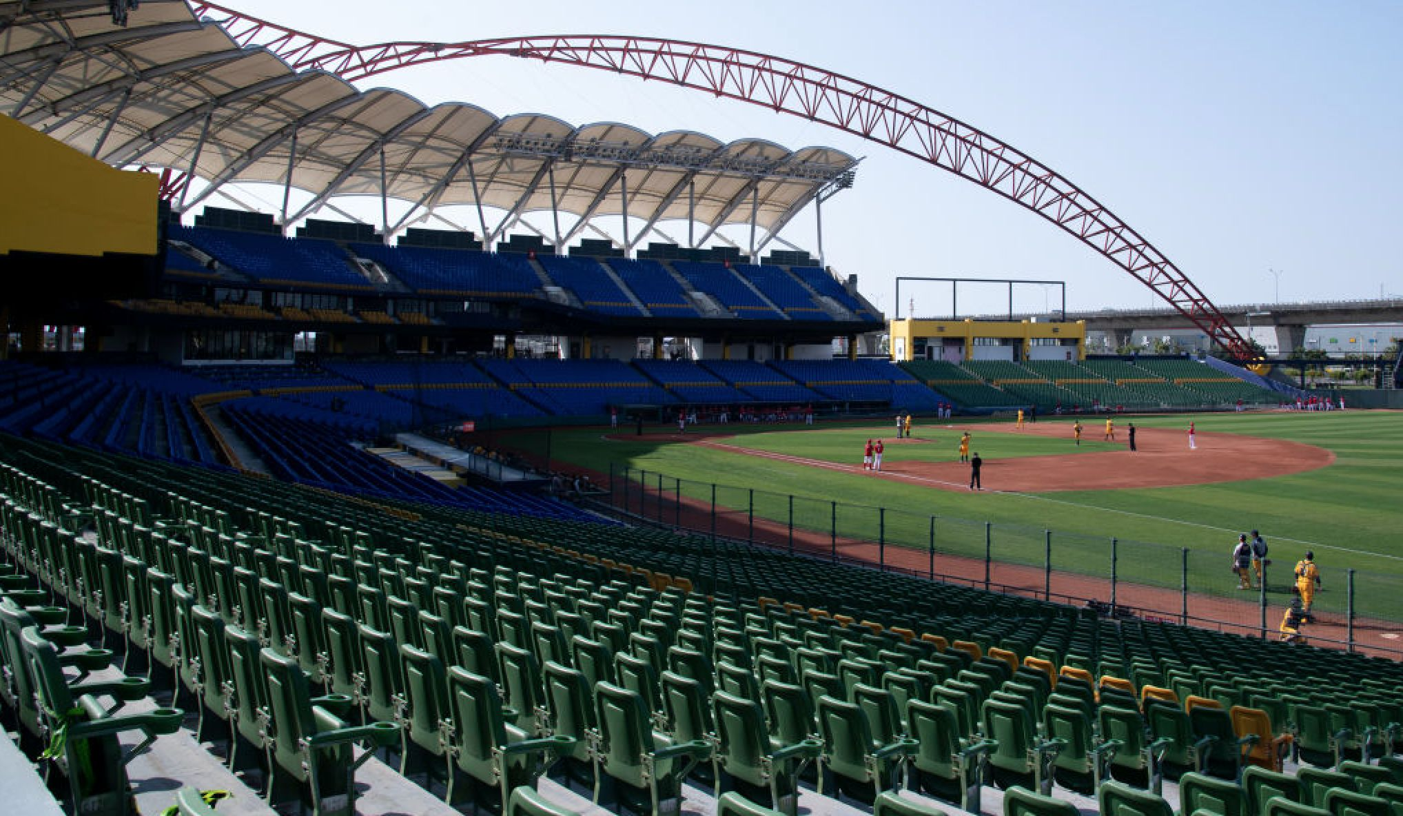 Do the robot: Taiwanese baseball team will fill empty stadium with 500 robo-fans