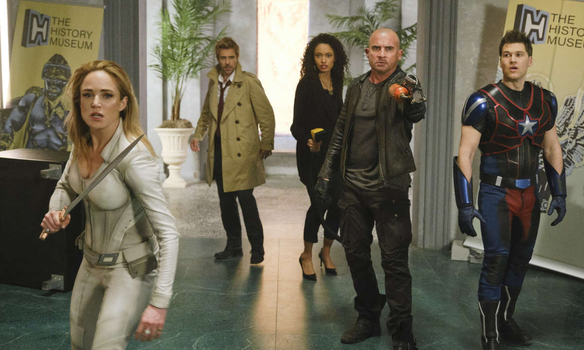 Legends of Tomorrow DC FanDome panel teases aliens, new Legends, and perhaps a musical