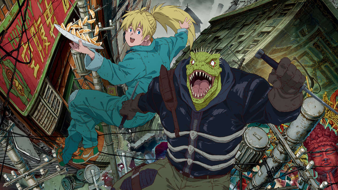 Dorohedoro is Netflix's wildest new anime. Why is everyone sleeping on it?