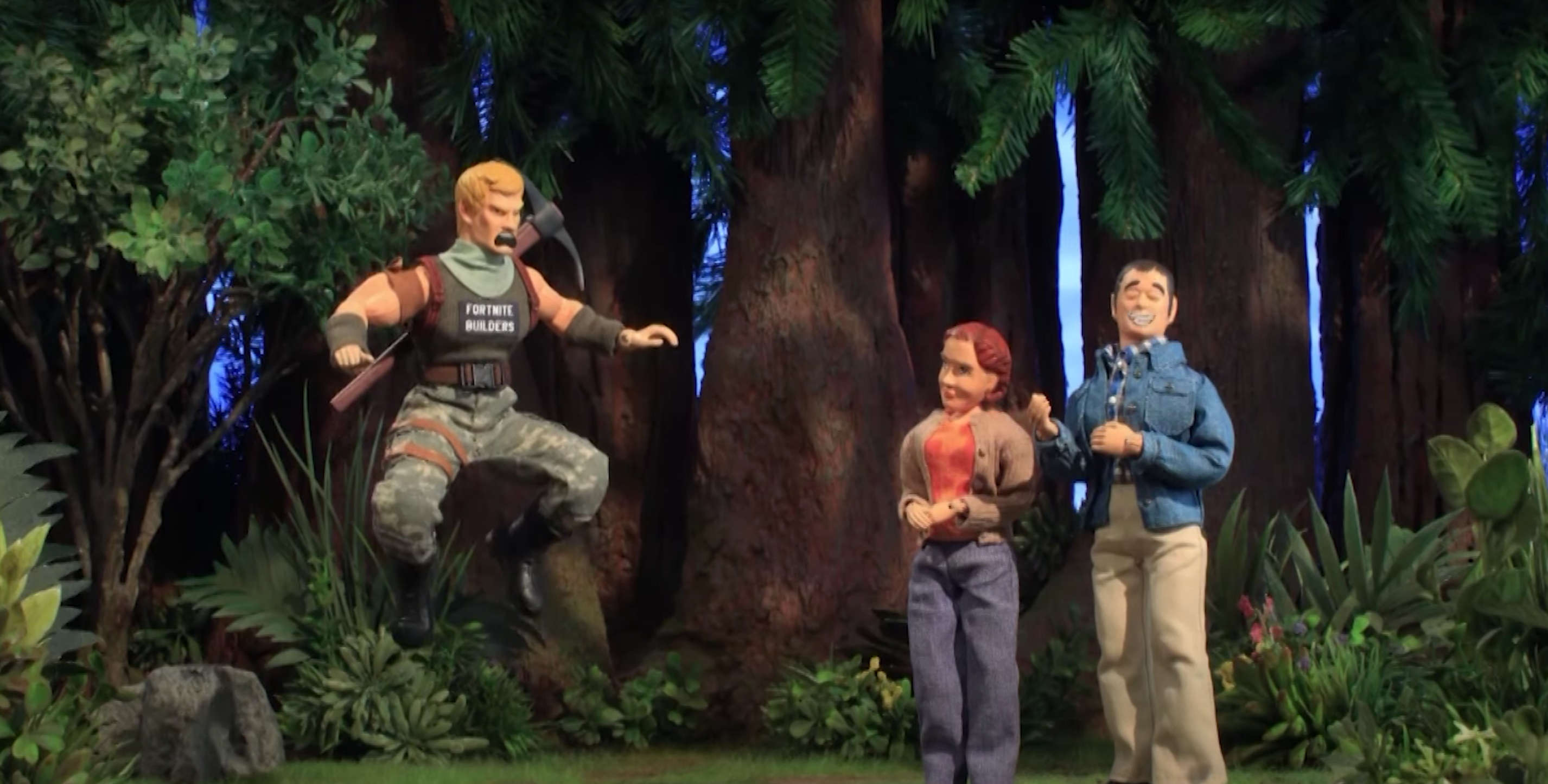 Fortnite and dream homes don't mix in Robot Chicken exclusive clip
