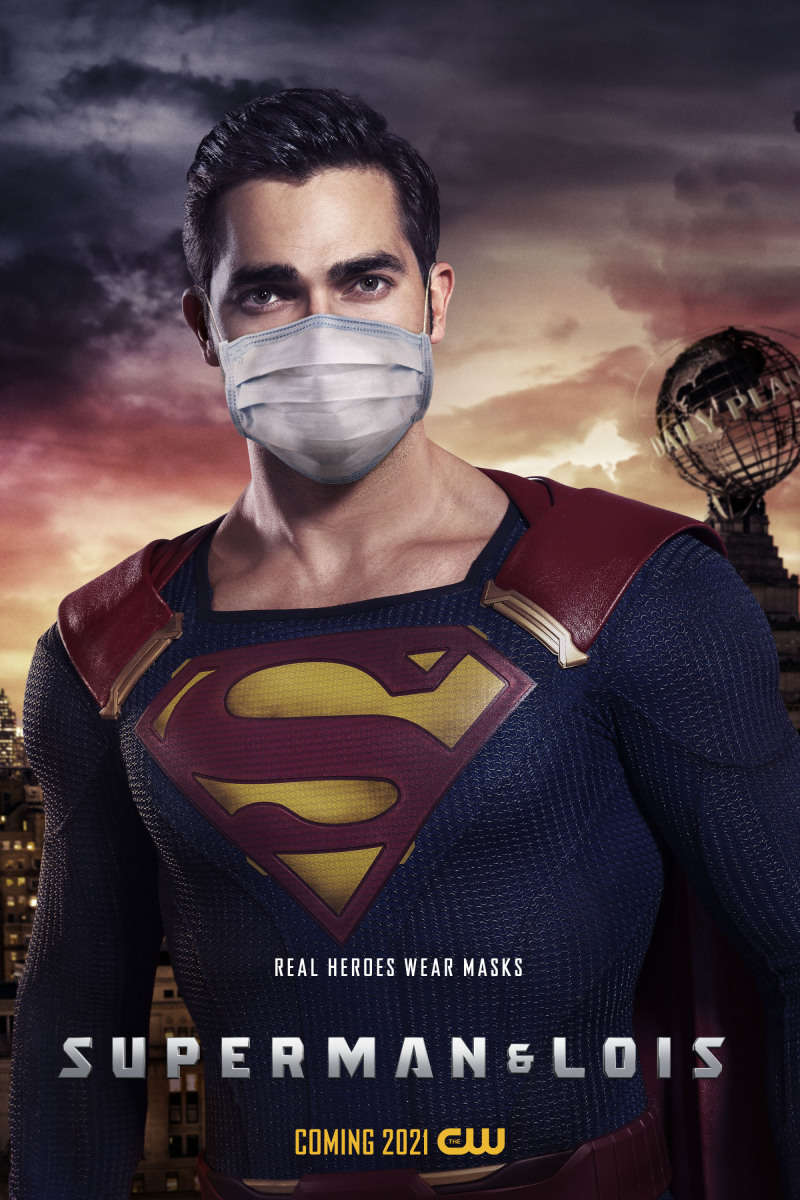 Supergirl, The Flash, Beebo and more 'Real Heroes' wear masks in new CW posters