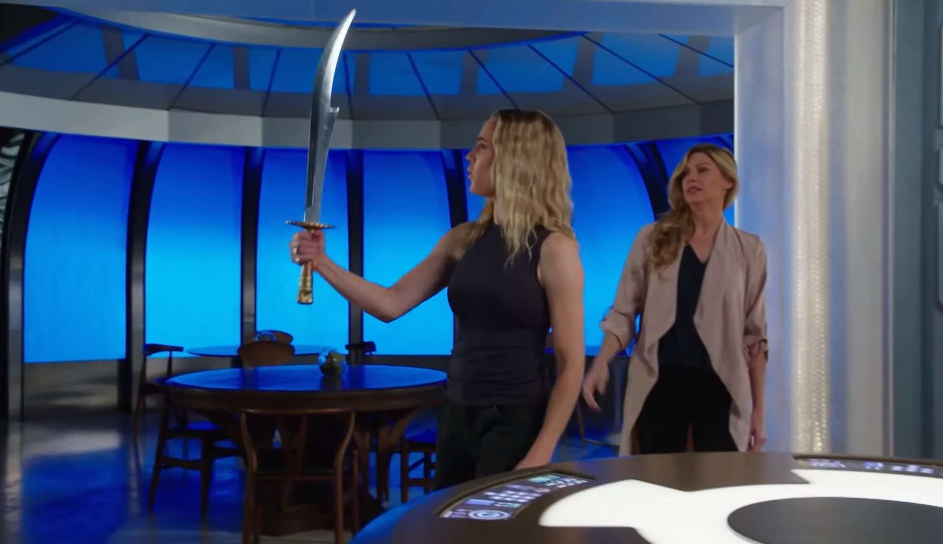Exclusive: DC's Legends of Tomorrow deleted scene gives fans a sharper look at Genghis Khan's Hell-Sword