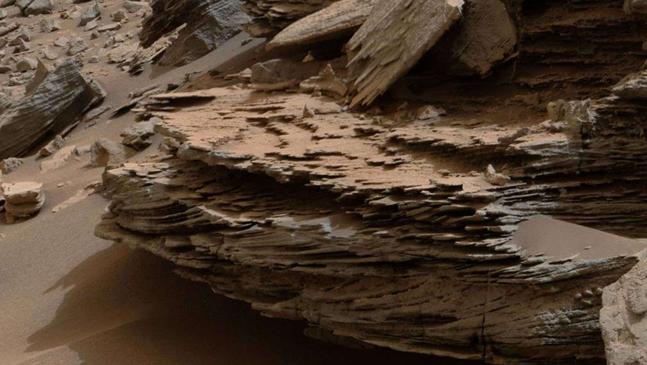 Is there life on Mars…at least in fossil form?