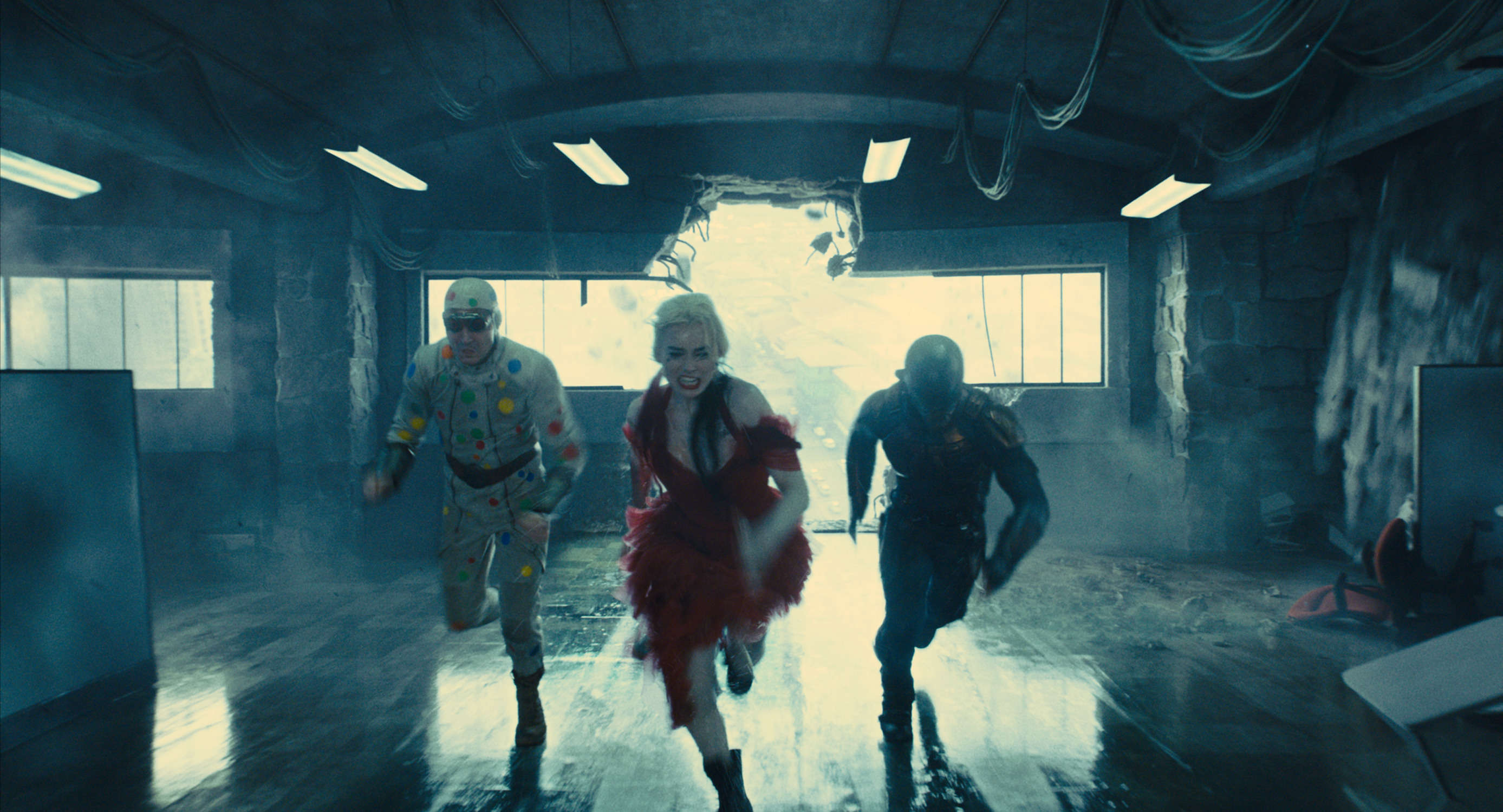 Harley Quinn's new Suicide Squad look was inspired by a Bat-tastic video game, says James Gunn