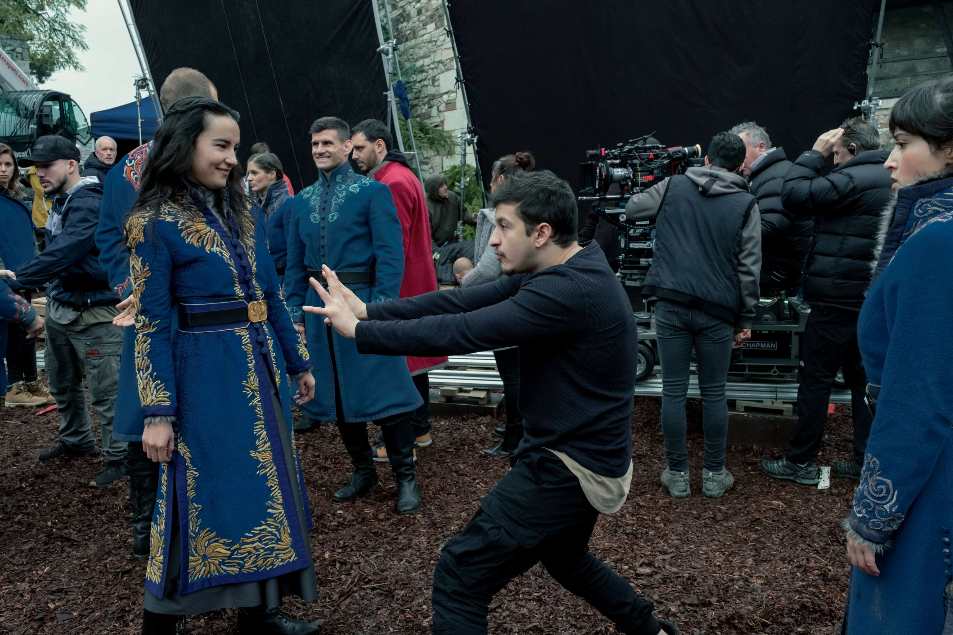 New Shadow and Bone clip reveals how cast learned to fight like a Grisha