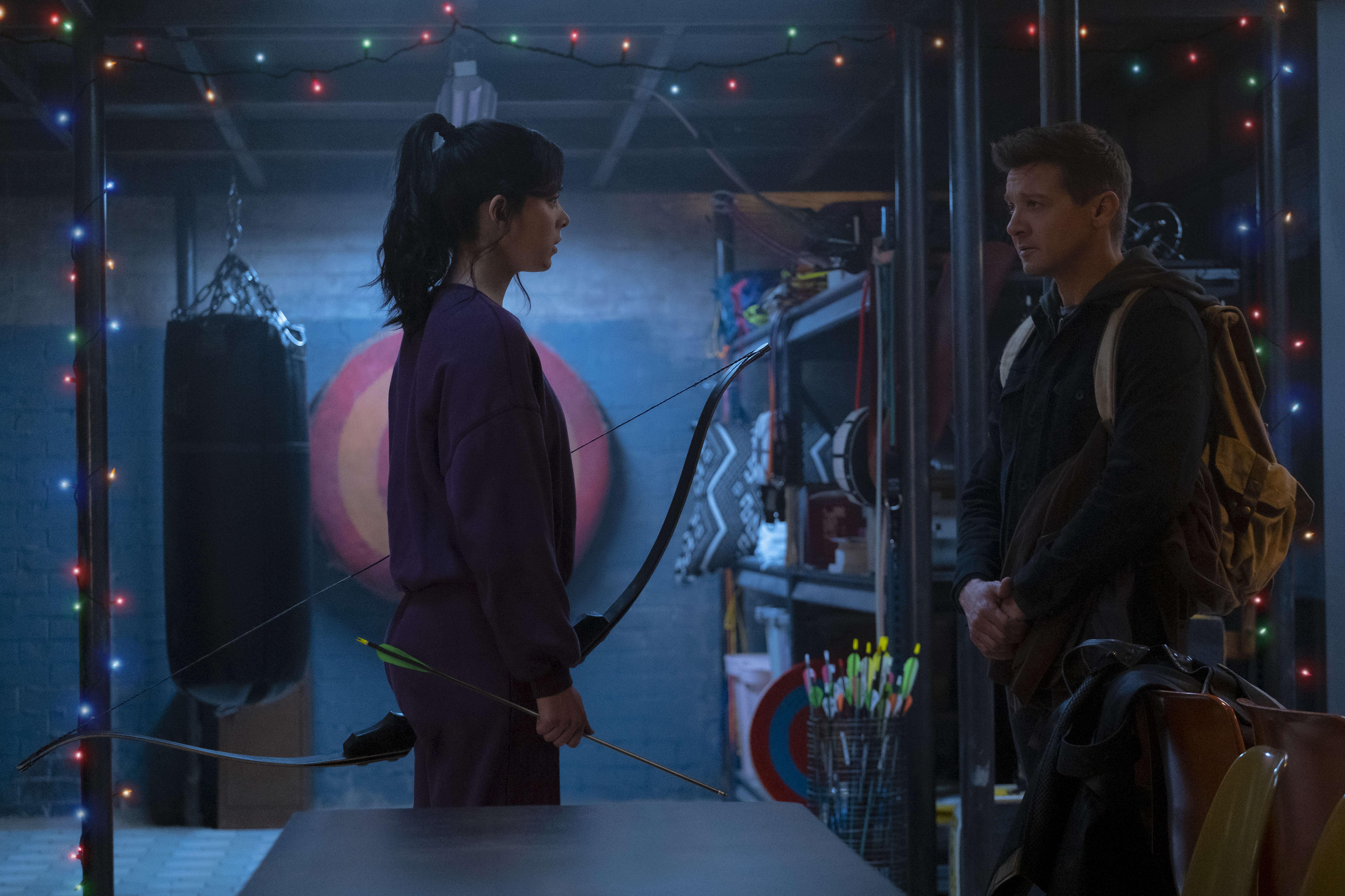 Marvel's 'Hawkeye' series takes aim at November premiere on Disney+, first pic reveals Kate Bishop