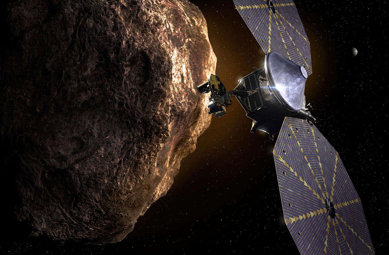 Lucy's wild ride to Jupiter's orbit… but not to Jupiter