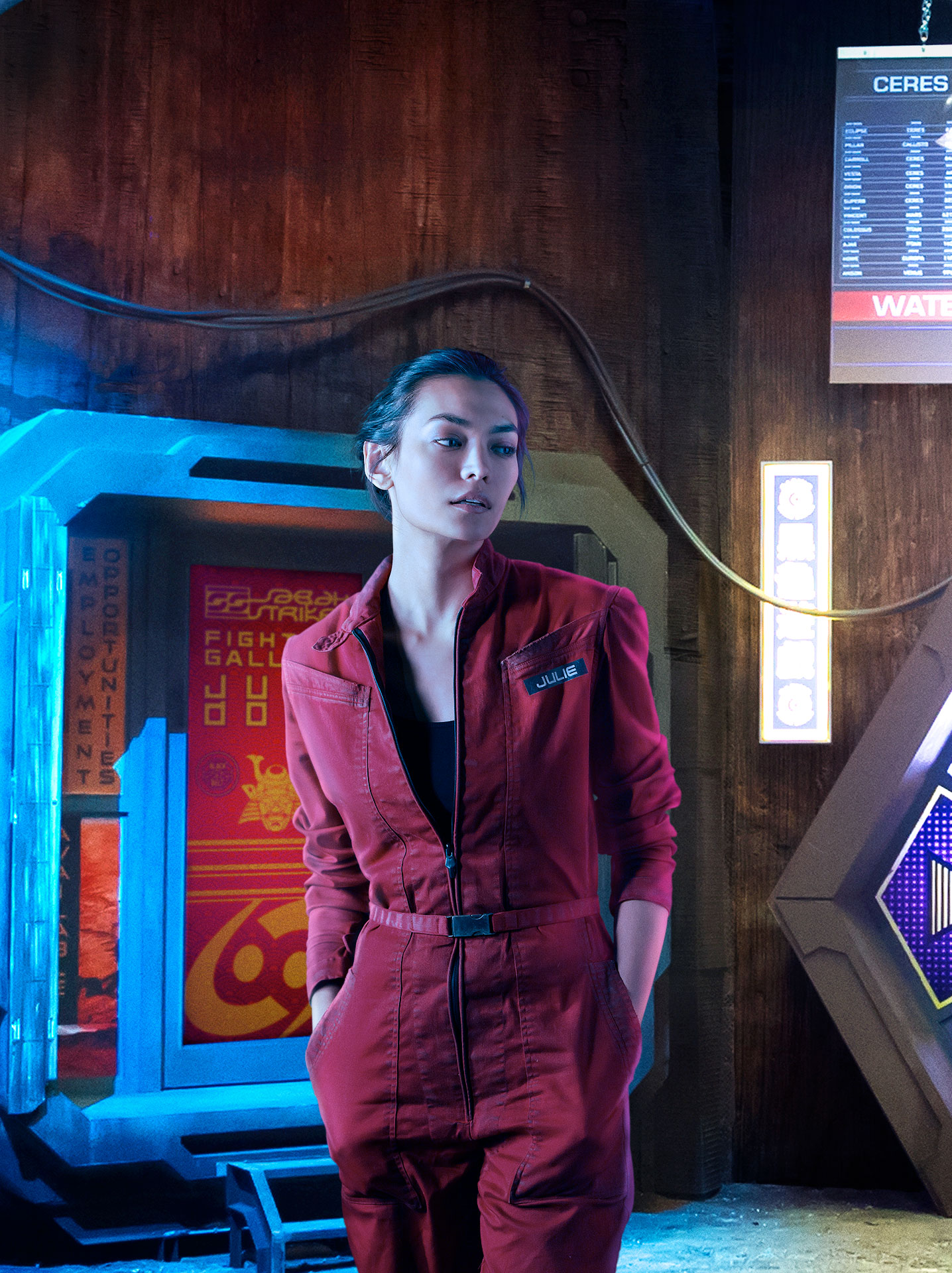 Florence Faivre Julie Mao Cast The Expanse Syfy