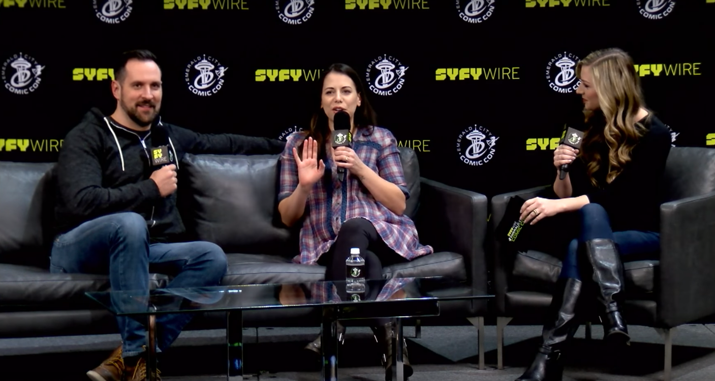ECCC 2018: Critical Role's Travis Willingham and Laura Bailey get
